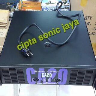 Jual Power Amplifier Ca 20 Soundstandar Profesional Audio - DKI Jakarta -  Cipta sonic jaya | Tokopedia