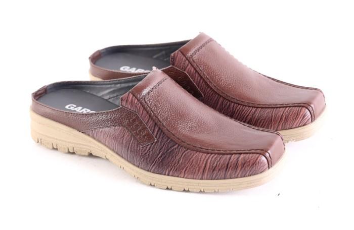 harga Sandal casual pria sandal bustong sandal kulit garsel l 173 Tokopedia.com