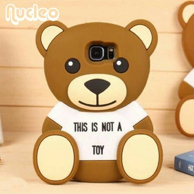 harga Casing boneka teddy bear samsung note 5 note5 / soft case cartoon 3d Tokopedia.com