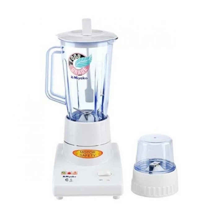 harga Blender glass 1l 2in1 200w miyako - bl101gs Tokopedia.com