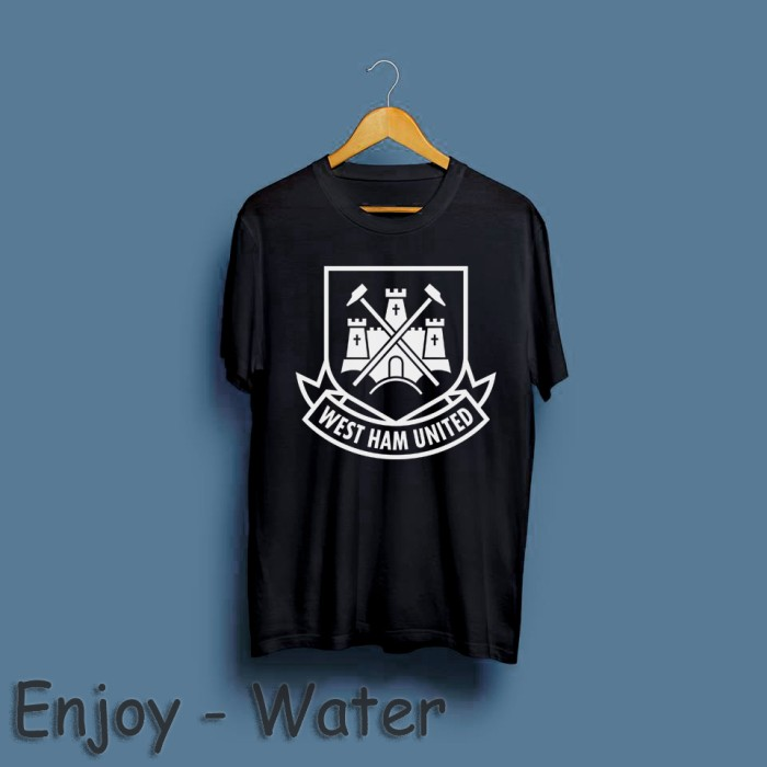 designer fashion 55feb e8780 Jual T-Shirt / Baju / Kaos West Ham United - water merch - Kota Bandung -  Water Merch | Tokopedia