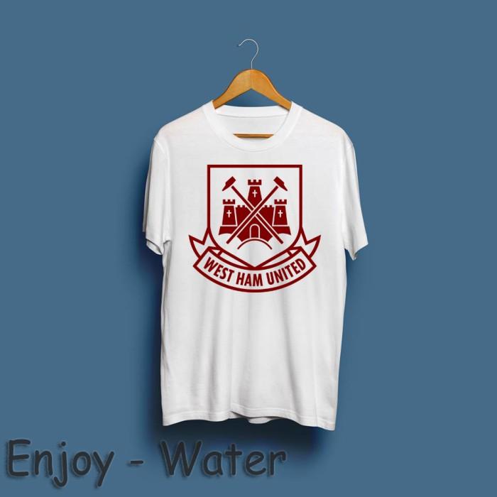 reputable site 2e4fb 75b1b Jual T-Shirt / Baju / Kaos West Ham United 2 - water merch - Kota Bandung -  Water Merch | Tokopedia