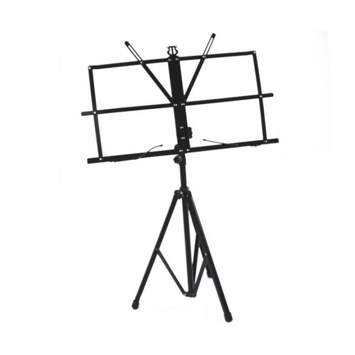 harga Stand partitur sheet musik - hitam Tokopedia.com
