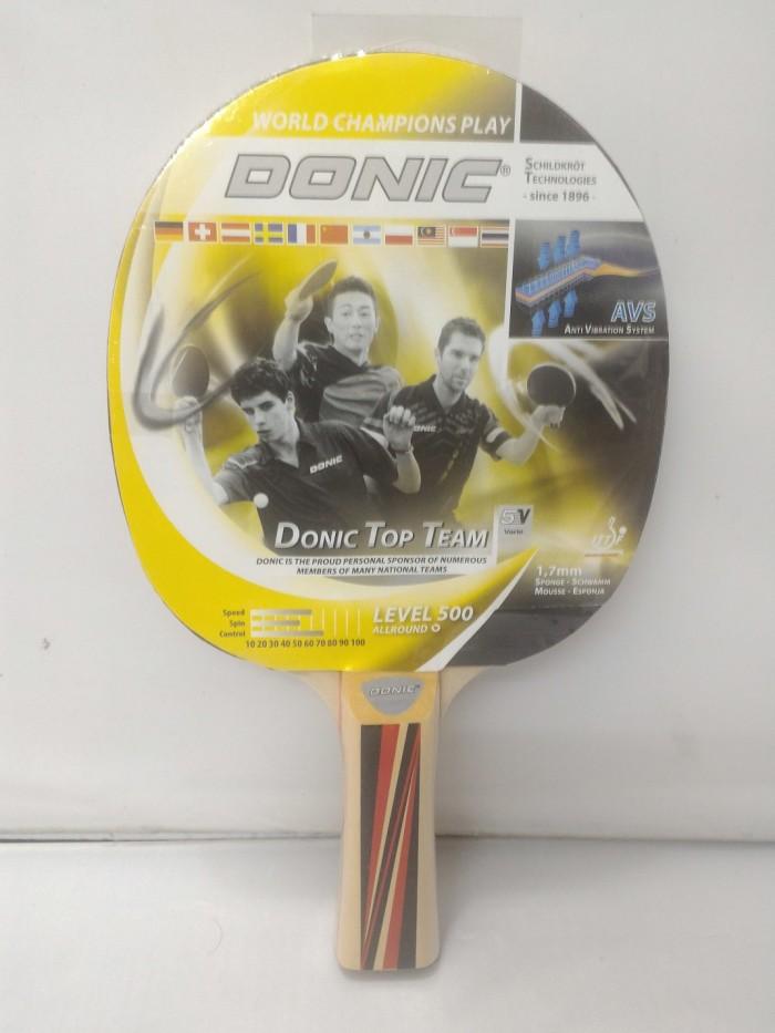 harga Bat pingpong / tenis meja donic top team 500 Tokopedia.com