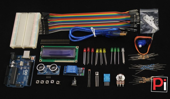 Jual arduino uno r dip starter kit complete version