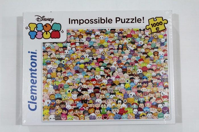 harga Jigsaw Puzzle Clementoni : Disney Tsum Tsum New - 1000 Pieces Tokopedia.com
