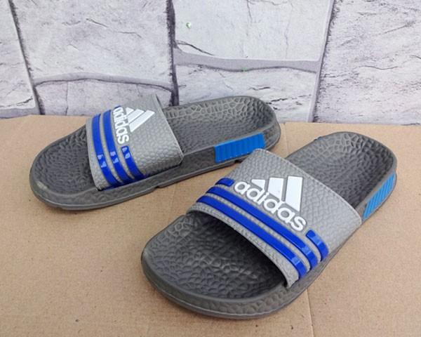 Jual Sandal Adidas Adizero Silver (sendal flip flop selop sport ... e2dd60868e22