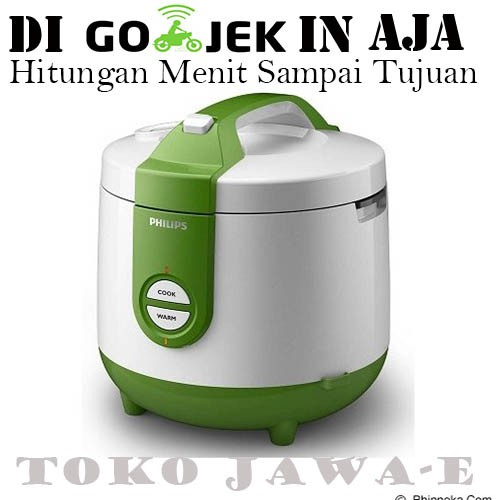 PHILIPS Rice Cooker 3in1 HD 3118/31 - Green