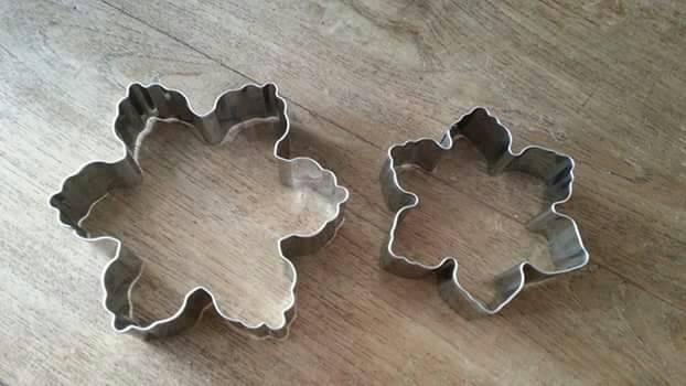 ... harga Cetakan kue kering / biscuit cutter bentuk snowflakes kepingan salju Tokopedia.com