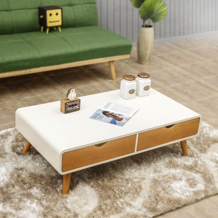 Modernica Sofa Table Brown Meja Ruang Tamu