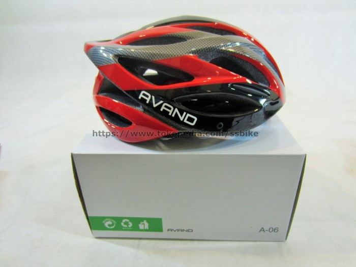Fang Lampu Peringatan Safety Helm Sepeda Ekor Lampu Belakang Hitam Source · Helm avand a 06 lampu helm sepeda avand