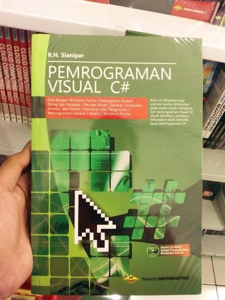 Buku PEMROGRAMAN VISUAL C# +CD