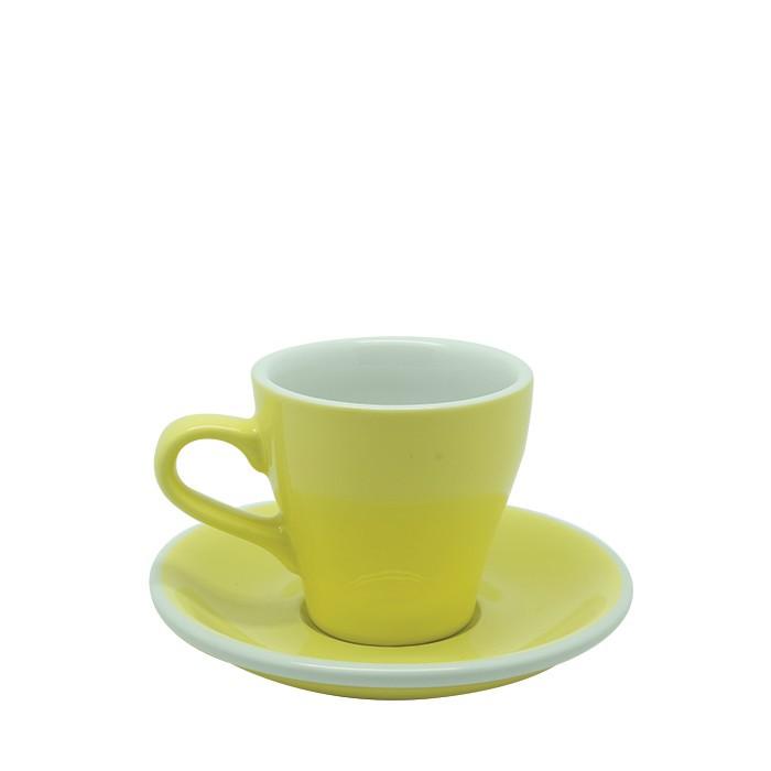 Jual Acme – Tulip Cup 170ml With Saucer Yellow Harga Promo Terbaru