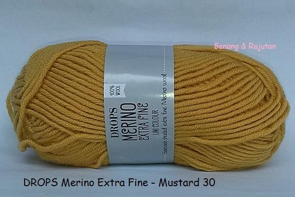 harga Drops merino extra fine kuning - benang rajut impor wol import wool Tokopedia.com