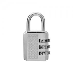 gembok 3 pin putar tas koper suitcase pagar nomor password padlock