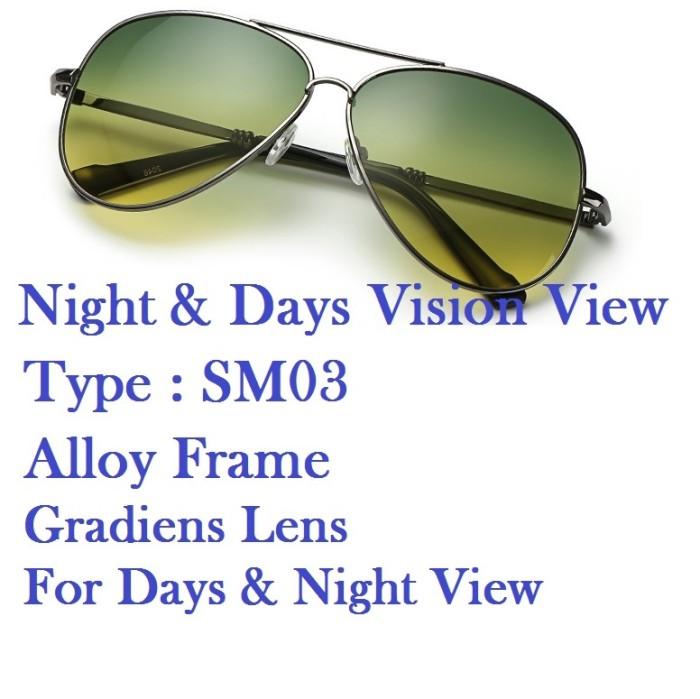 Kacamata Malam Siang Night & Day Vision View Glasses Type SM03