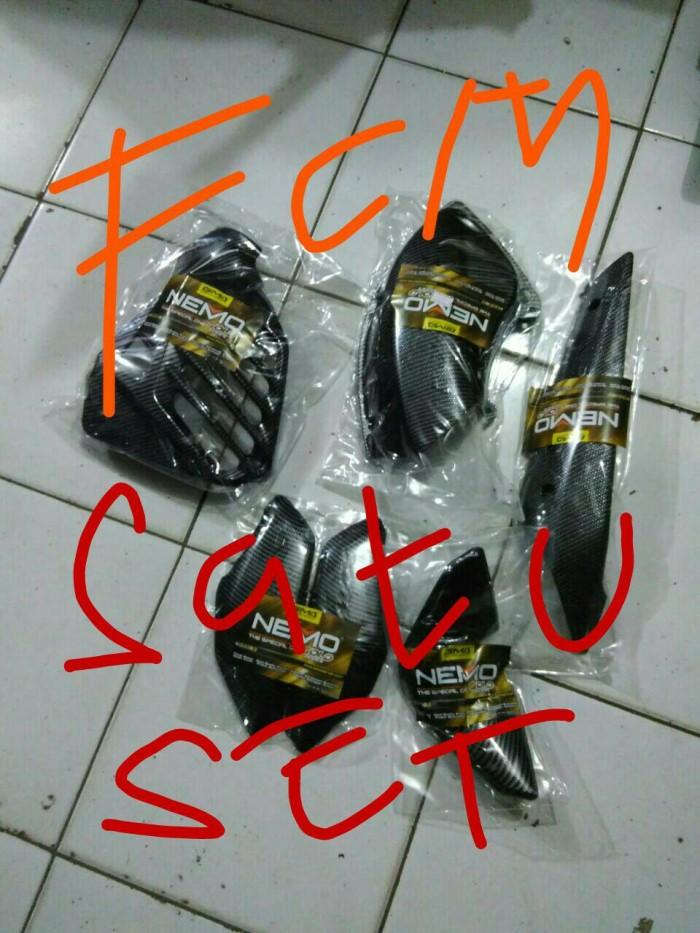 harga (satu paket) cover /tutup body yamaha nmax aksesoris motor Tokopedia.com