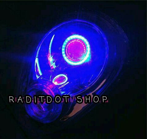 harga Headlamp / lampu depan / reflektor + projie led scoopy fi Tokopedia.com