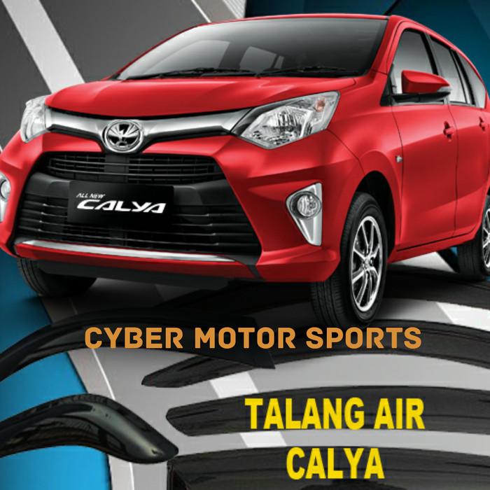 Talang Air Toyota Calya, Side Visor Calya, Talang Air Calya Slim