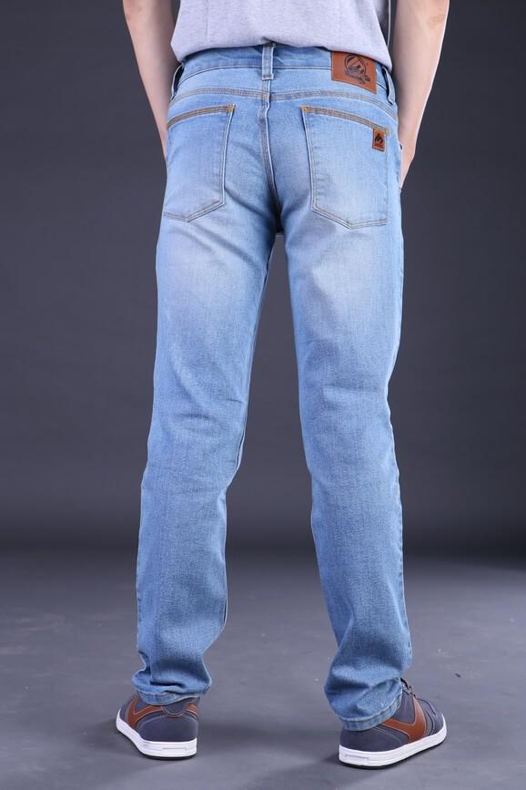 Celana Jeans Panjang Pria (Biru Laut / Muda Denim) | Original Premium