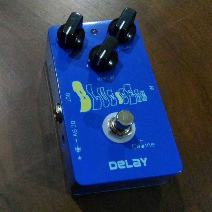 harga Caline cp-19 blue ocean delay pedal efek gitar stompbox Tokopedia.com