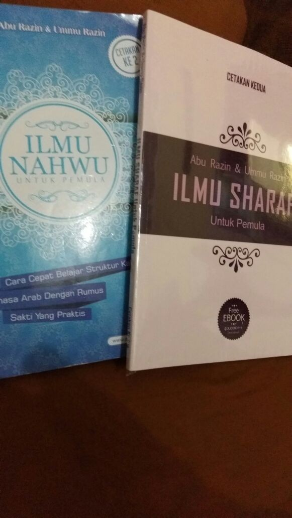 harga Paket belajar nahwu shorof (2 buku) Tokopedia.com