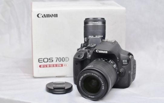Jual Kamera Canon Eos 700d Baru Kab Bangka Hriyanti Tokopedia