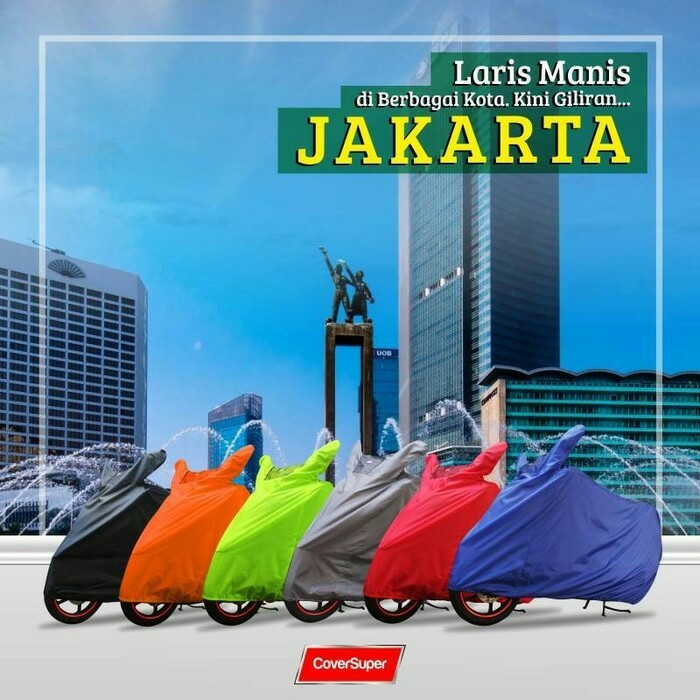 harga Cover motor tvs rocks new anti air 70% murah berkualitas Tokopedia.com