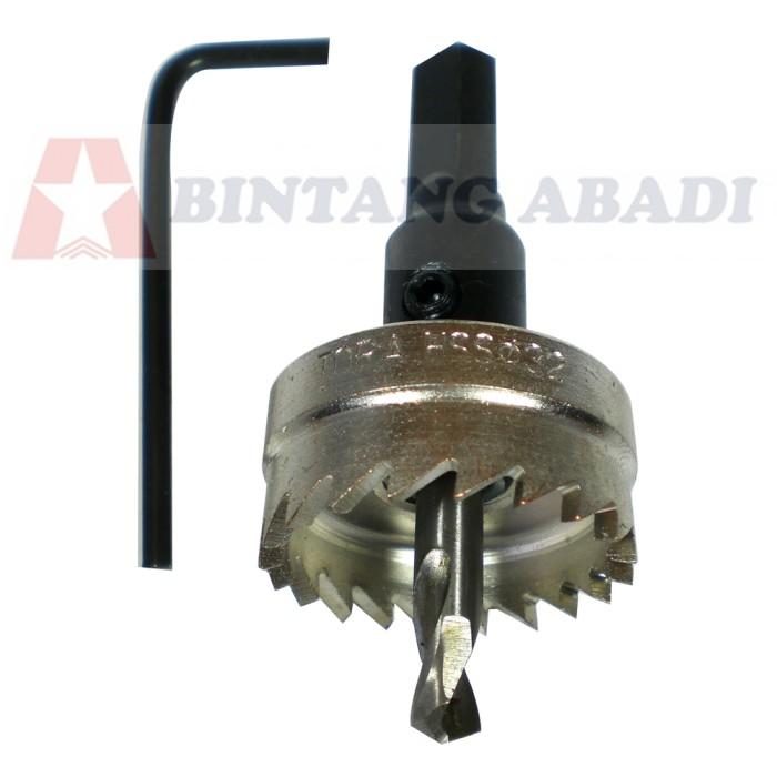 harga Tora hole saw hss 32 mm metal besi / plat seng / mata gergaji lubang Tokopedia.com