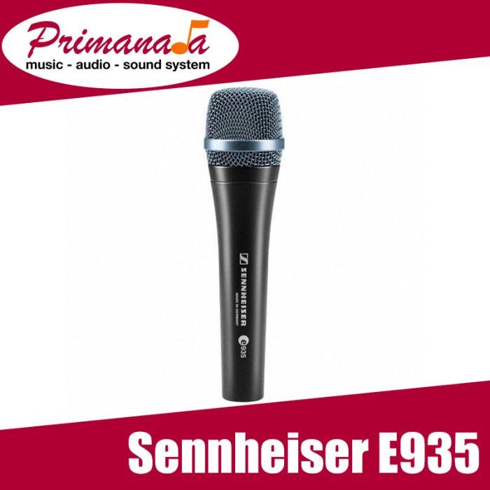harga Sennheiser e935 / e 935 / e-935 cable microphone / mik genggam pegang Tokopedia.com