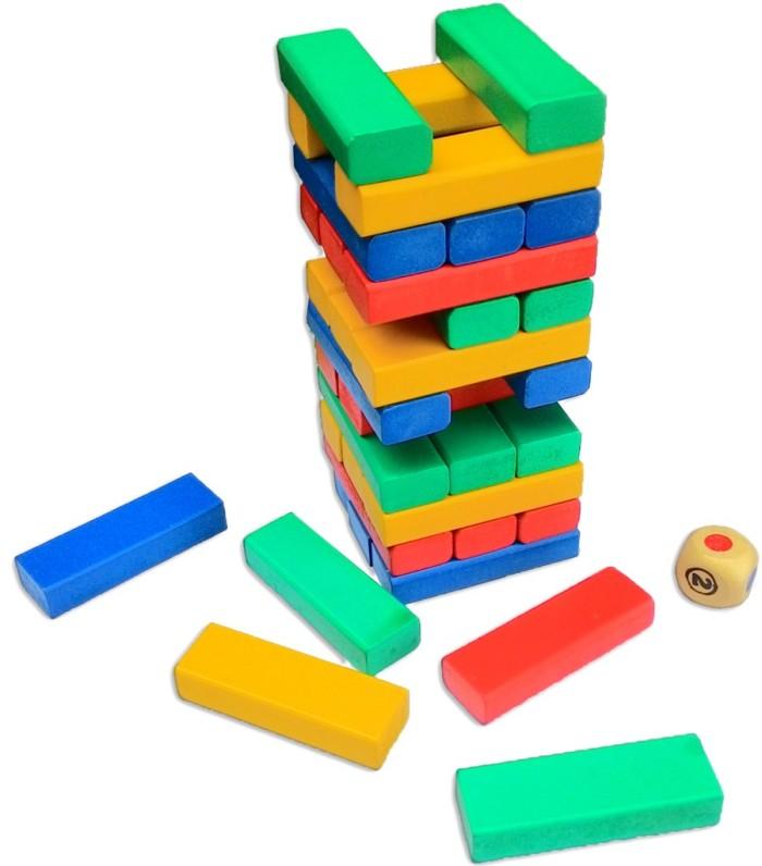 Foto Produk Menara Rubuh tumbling tower, mainan edukatif edukasi anak kayu kreatif dari Edukasi Toys