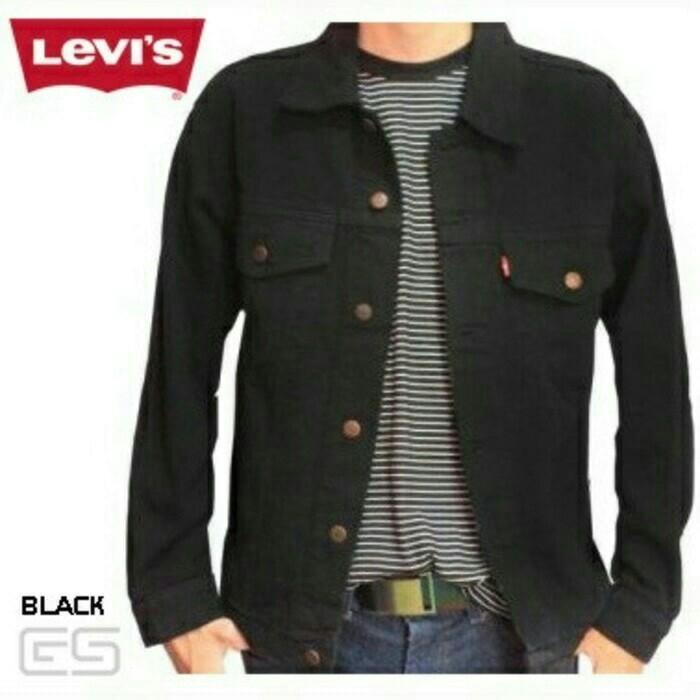 Jaket Levis Black