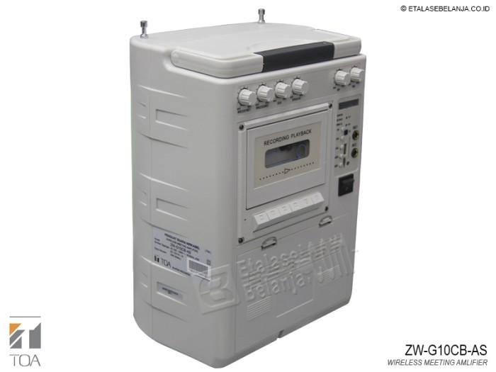 harga Toa zw-g10cb-as - portable sound system Tokopedia.com