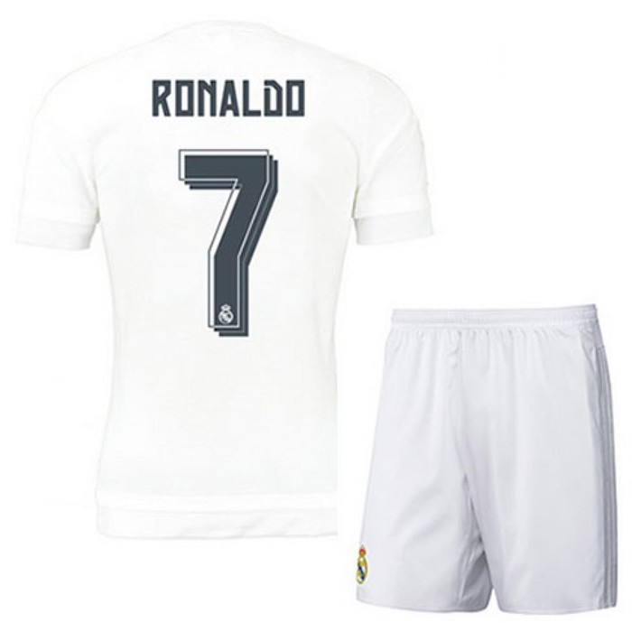 Kaos/jersey sepakbola real madrid(ronaldo james bale marcelo)