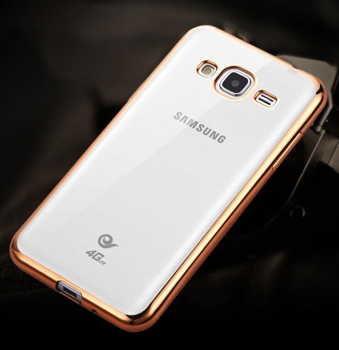 harga Tpu Shining Samsung Galaxy J1 Ace J2 J3 Case Silicone Soft Clear Thin Tokopedia.com