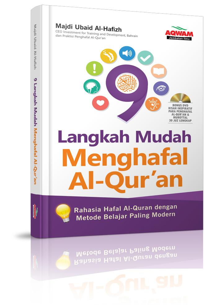 Buku 9 Langkah Mudah Menghafal Al Quran + Bonus DVD - AQWAM ))