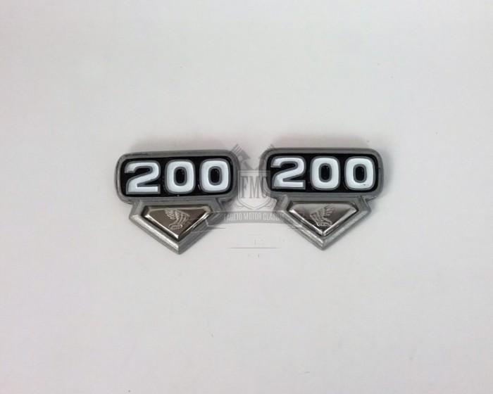 Emblem box aki cb200 wajik