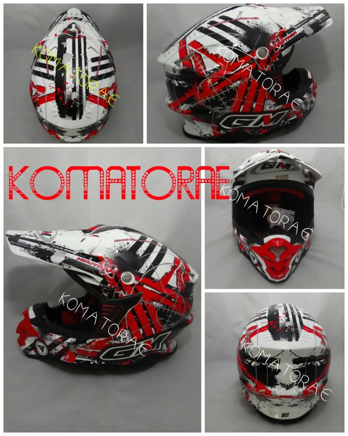 harga Helm gm sepercross trail cross Tokopedia.com