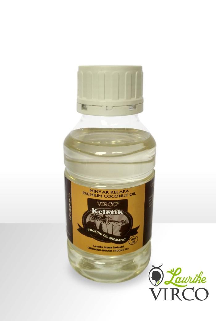 Foto Produk Minyak Goreng Premium VCO Aromatik 500 ml dari Laurike Home Industri