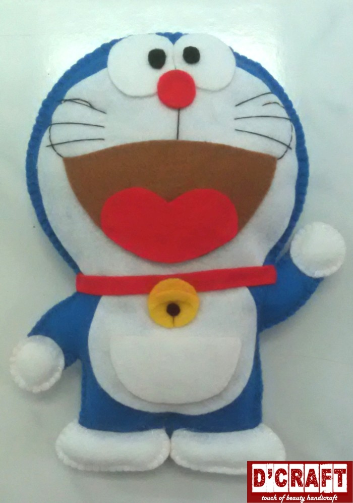 Tempat Pensil Boneka Doraemon