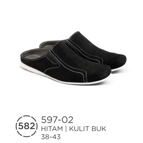 harga Sandal bustong pria / sandal kulit asli / sendal sepatu casual formal Tokopedia.com
