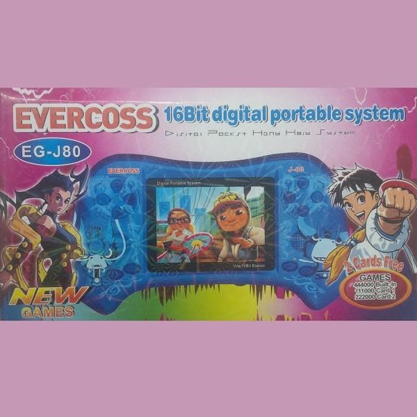 harga Digital portable game 16bit evercoss eg-j80 super big screen 3inch tv Tokopedia.com