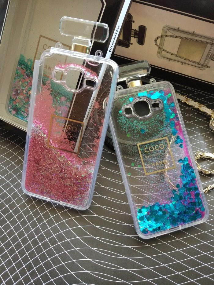 harga Samsung grand prime g530 coco chanel water glitter bottle parfume case Tokopedia.com