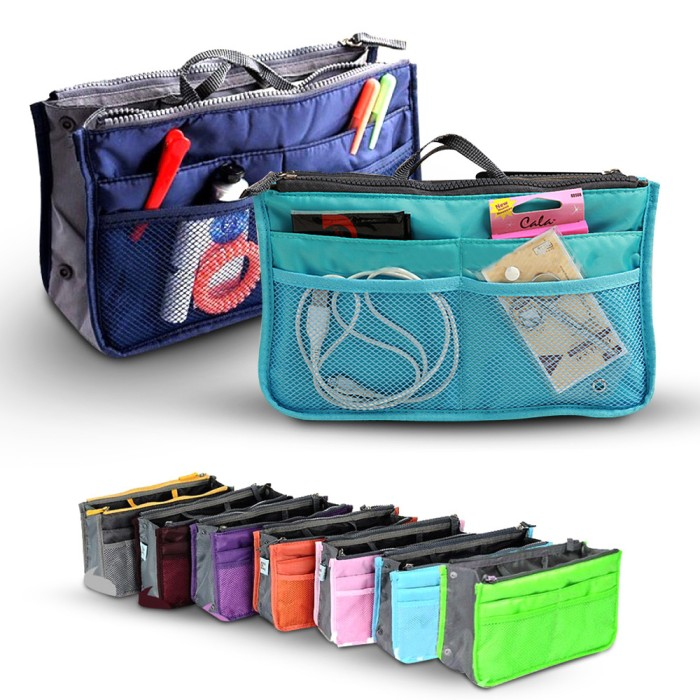 Korea Dual Bag - Tas Organizer Bag in Bag - Original