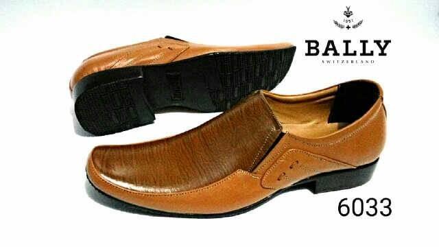 harga Sepatu dormal coklat kerja kulit pantofel pria bally selop pesta baru Tokopedia.com