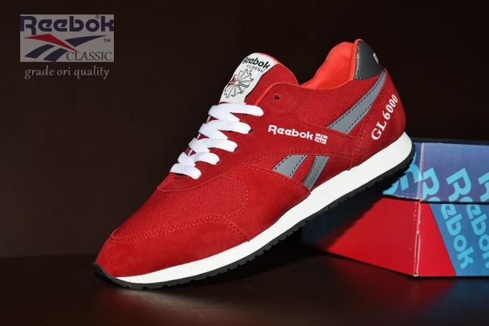 Jual Sepatu Casual Reebok Merah Abu   sepatu kets sport kets pria ... e1244cf47d