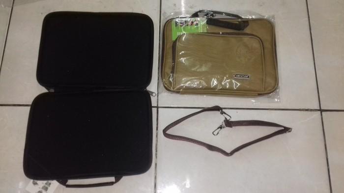 Sofcase laptop x sekutif 10 inc waterproof-kulit sintetismotif