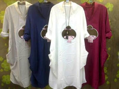 Atasan/ Long Top/ Ladies Tunik Import Limited