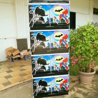 harga Lemari bilpin super batman Tokopedia.com