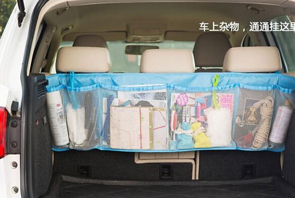 Foto Produk Big Car Organizer Back Kantong Tempat Penyimpanan Belakang Mobil Besar dari BEST SHOP GROSIR
